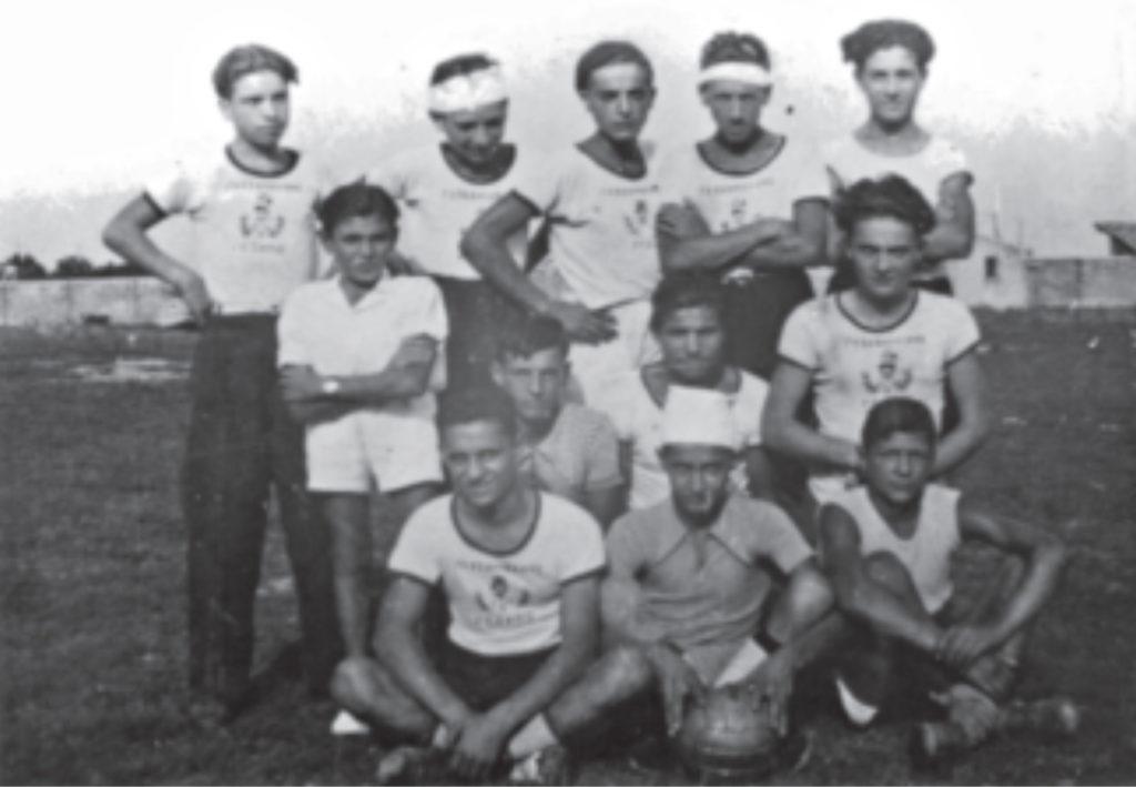 fossombrone calcio squadra 1936